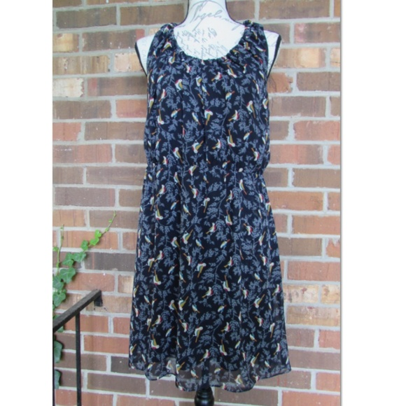 C. Luce Dresses & Skirts - c. luce bird print tank dress